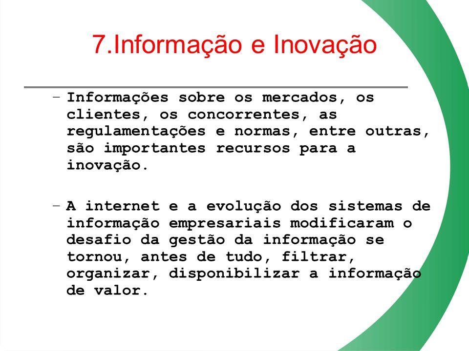 7.Informação e Inovação