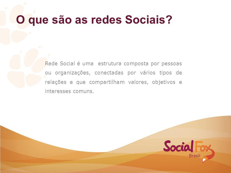 O que são as redes Sociais