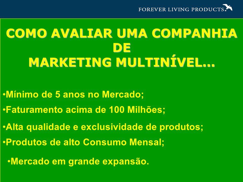 COMO AVALIAR UMA COMPANHIA DE Mercado em grande expansão.