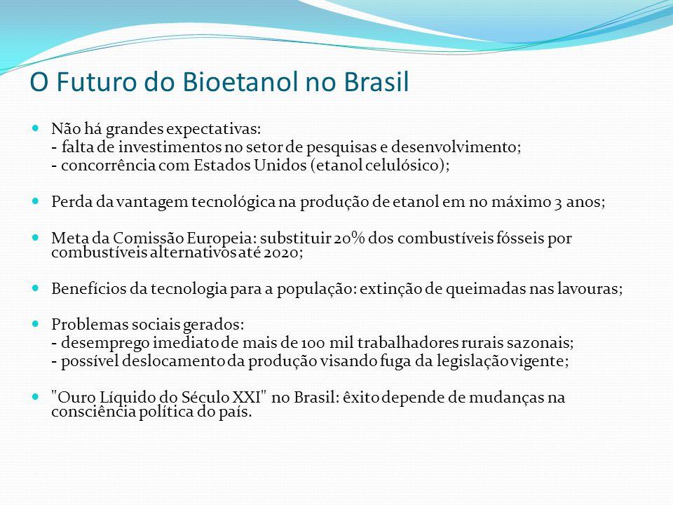 O Futuro do Bioetanol no Brasil