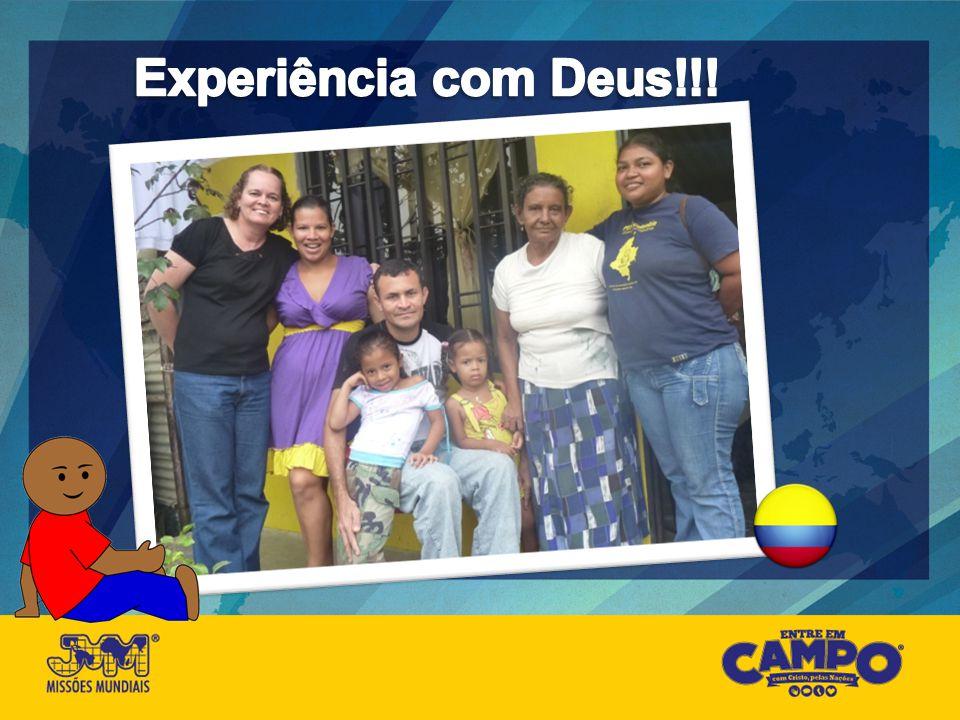 Experiência com Deus!!!