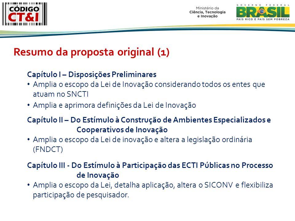 Resumo da proposta original (1)