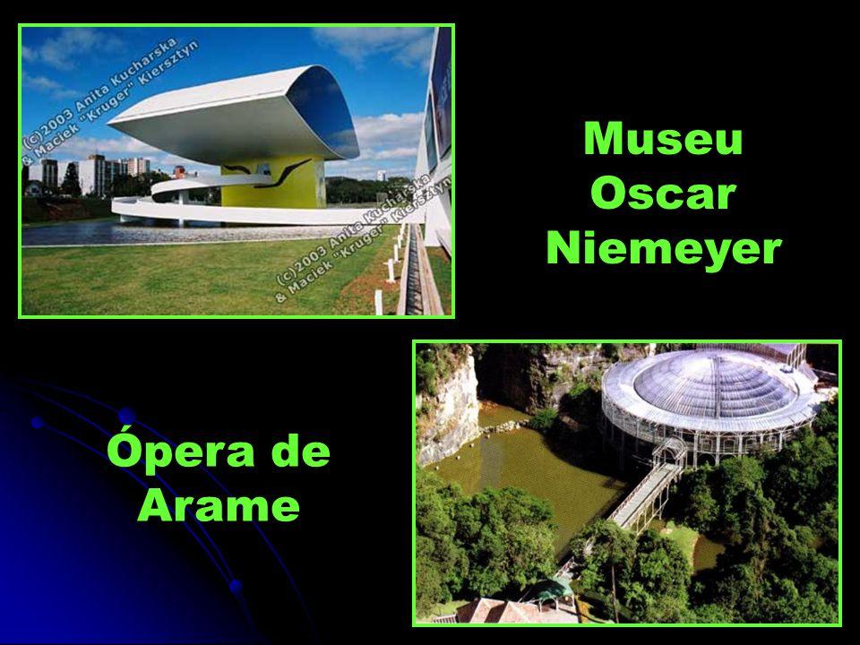 Museu Oscar Niemeyer Ópera de Arame
