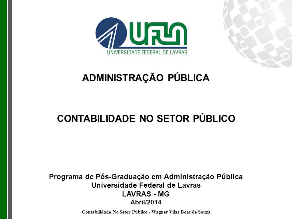 ADMINISTRAÇÃO PÚBLICA CONTABILIDADE NO SETOR PÚBLICO