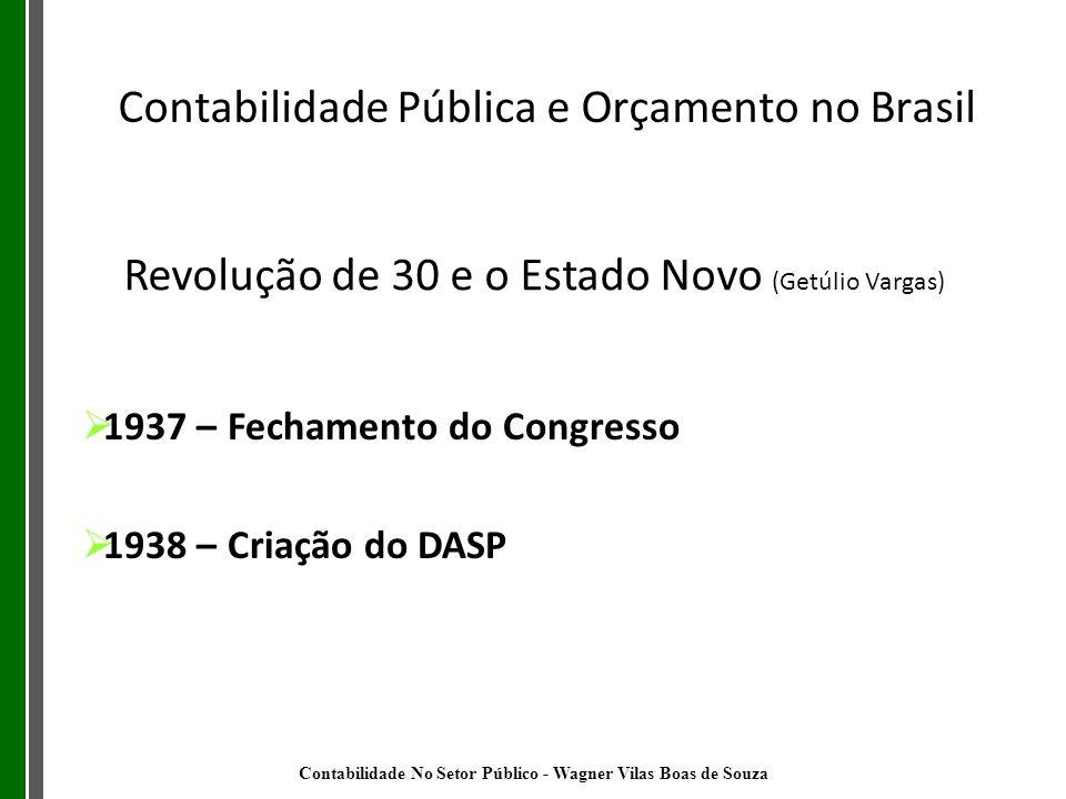 Revolução de 30 e o Estado Novo (Getúlio Vargas)