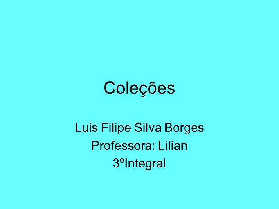Luis Filipe Silva Borges Professora: Lilian 3ºIntegral