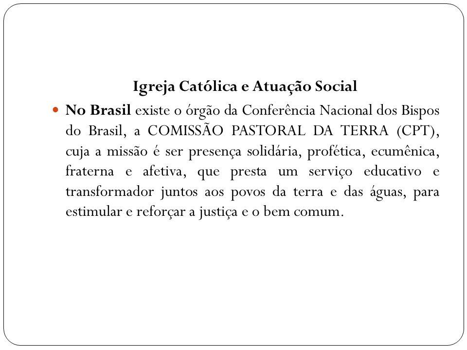 Igreja Católica e Atuação Social
