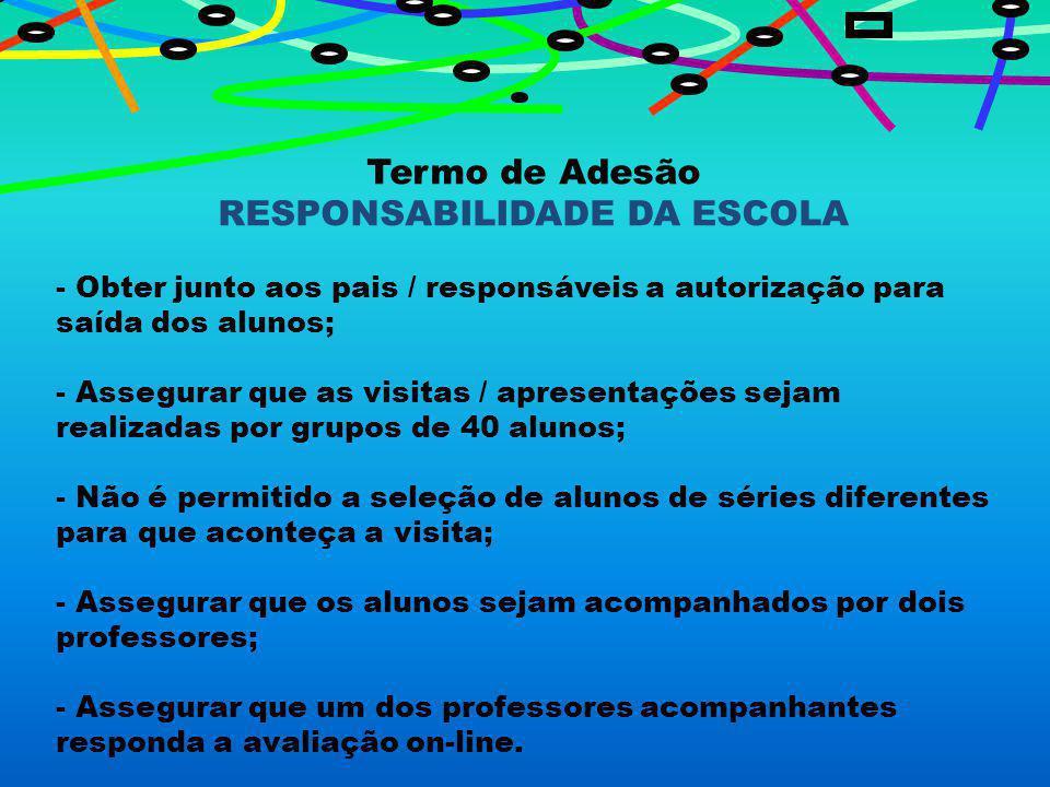 RESPONSABILIDADE DA ESCOLA