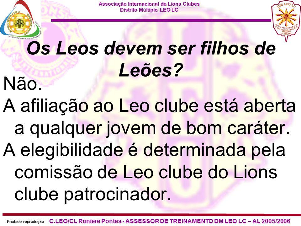 Os Leos devem ser filhos de Leões