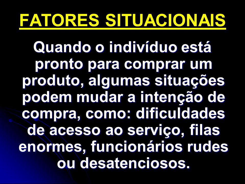 FATORES SITUACIONAIS