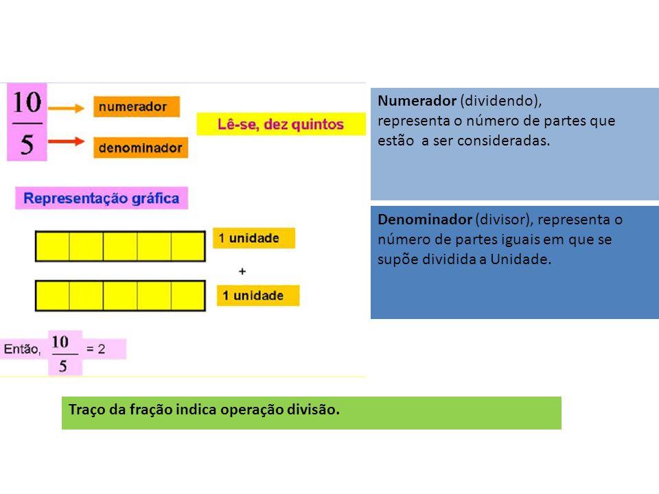 Numerador (dividendo),