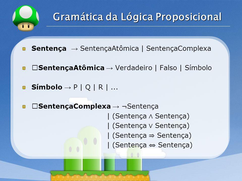 Gramática da Lógica Proposicional