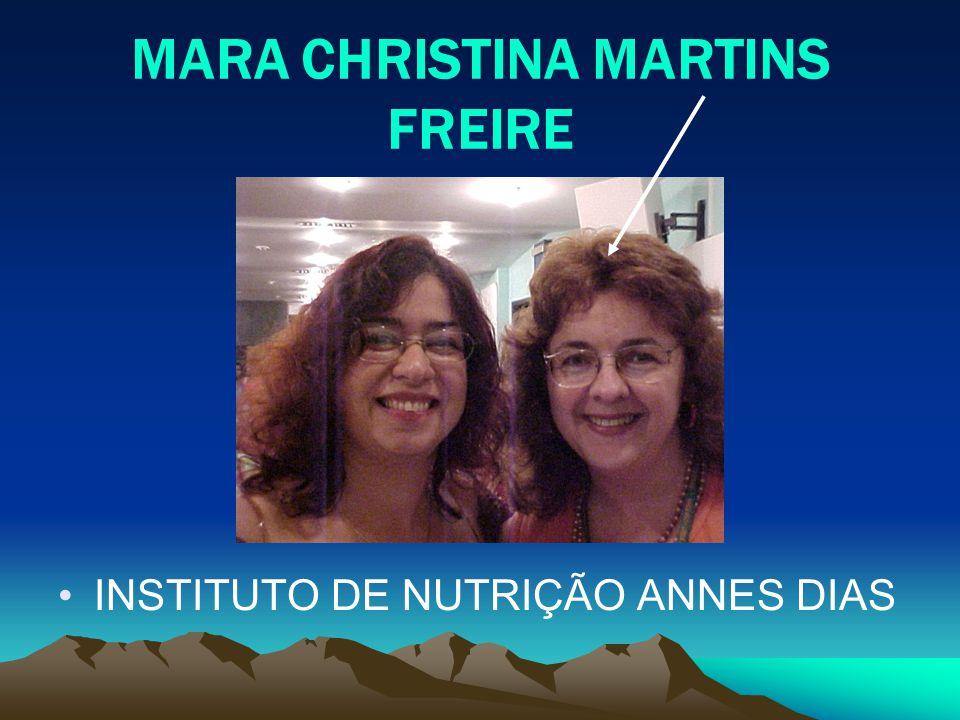 MARA CHRISTINA MARTINS FREIRE