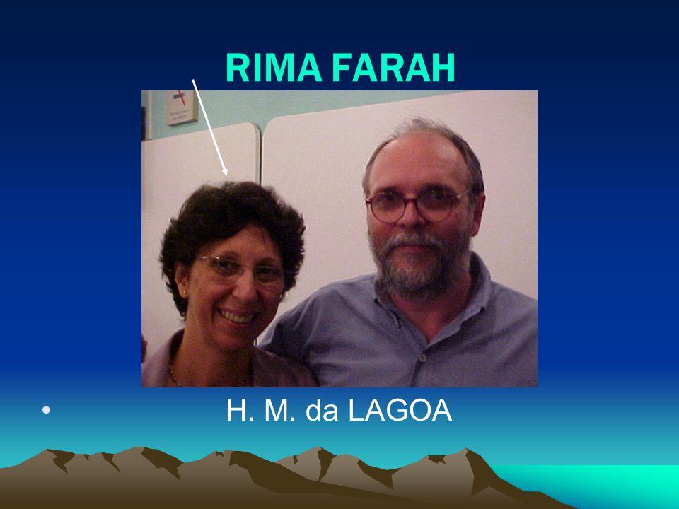 RIMA FARAH H. M. da LAGOA