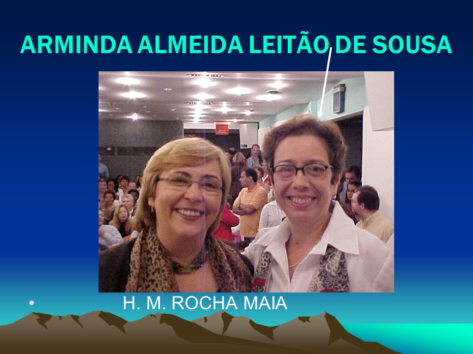 ARMINDA ALMEIDA LEITÃO DE SOUSA