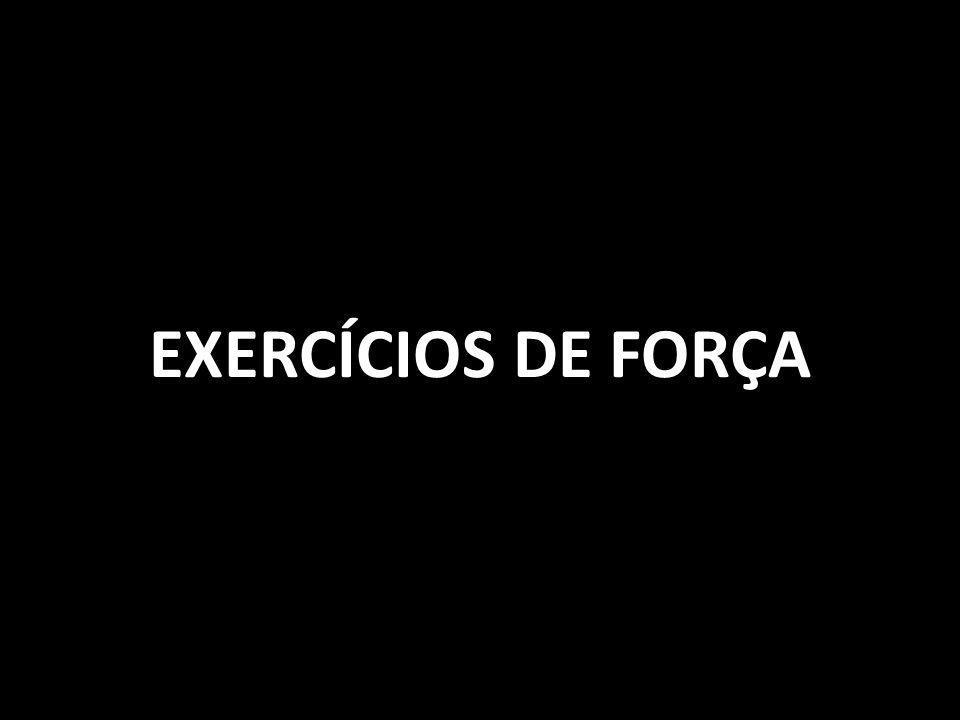EXERCÍCIOS DE FORÇA