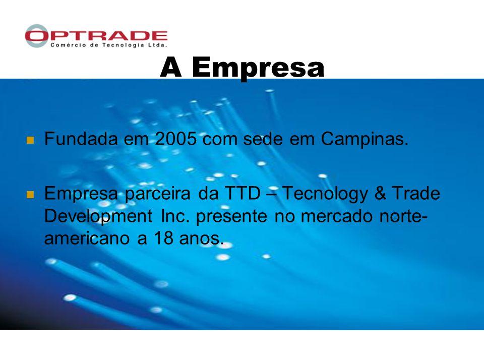 A Empresa Fundada em 2005 com sede em Campinas.