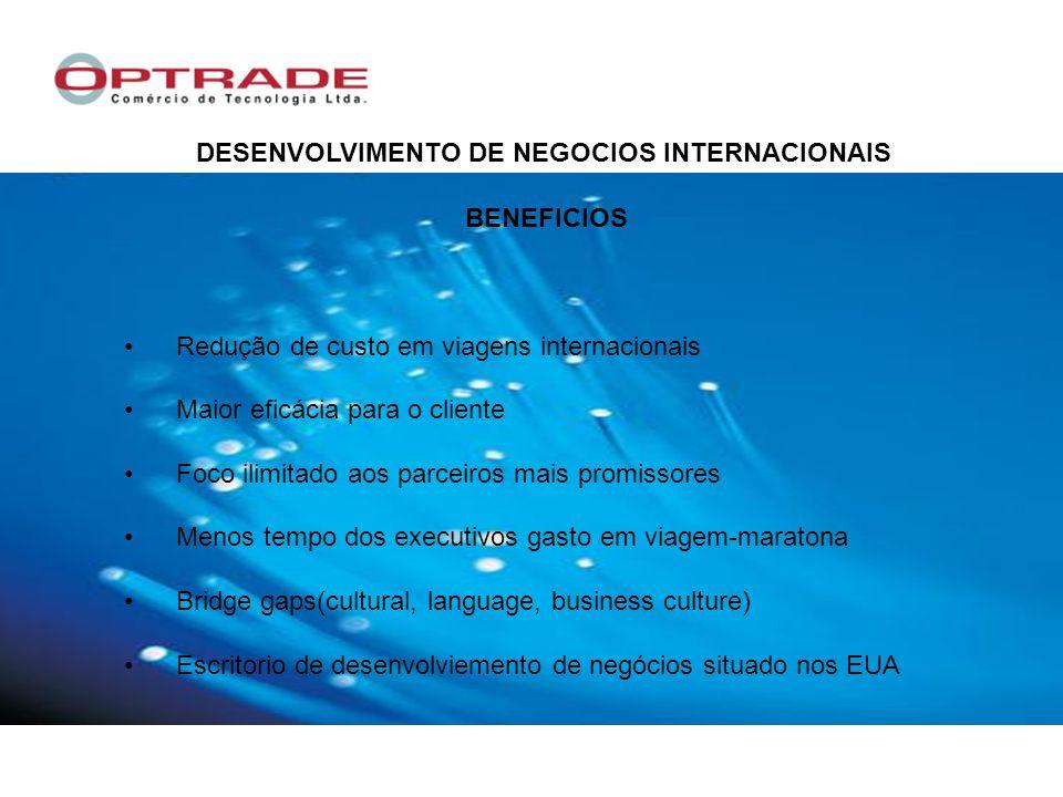 DESENVOLVIMENTO DE NEGOCIOS INTERNACIONAIS