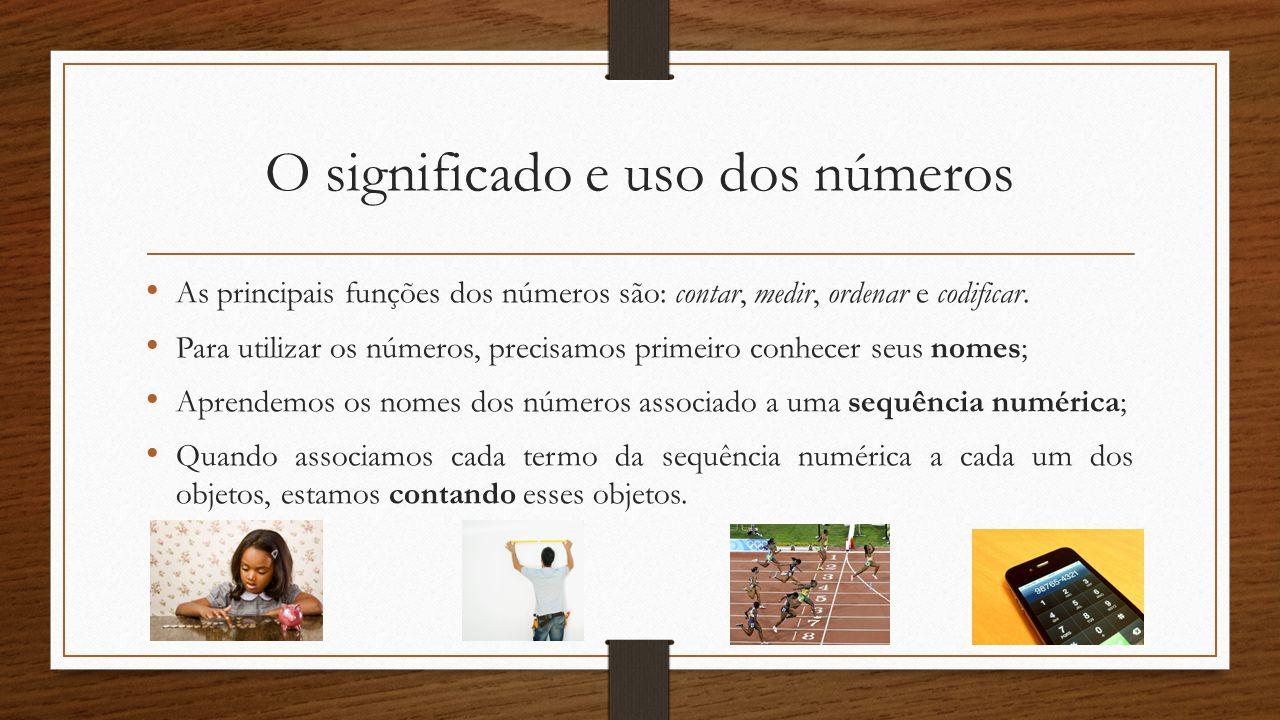 O significado e uso dos números