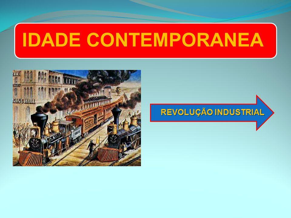 IDADE CONTEMPORANEA REVOLUÇÃO INDUSTRIAL