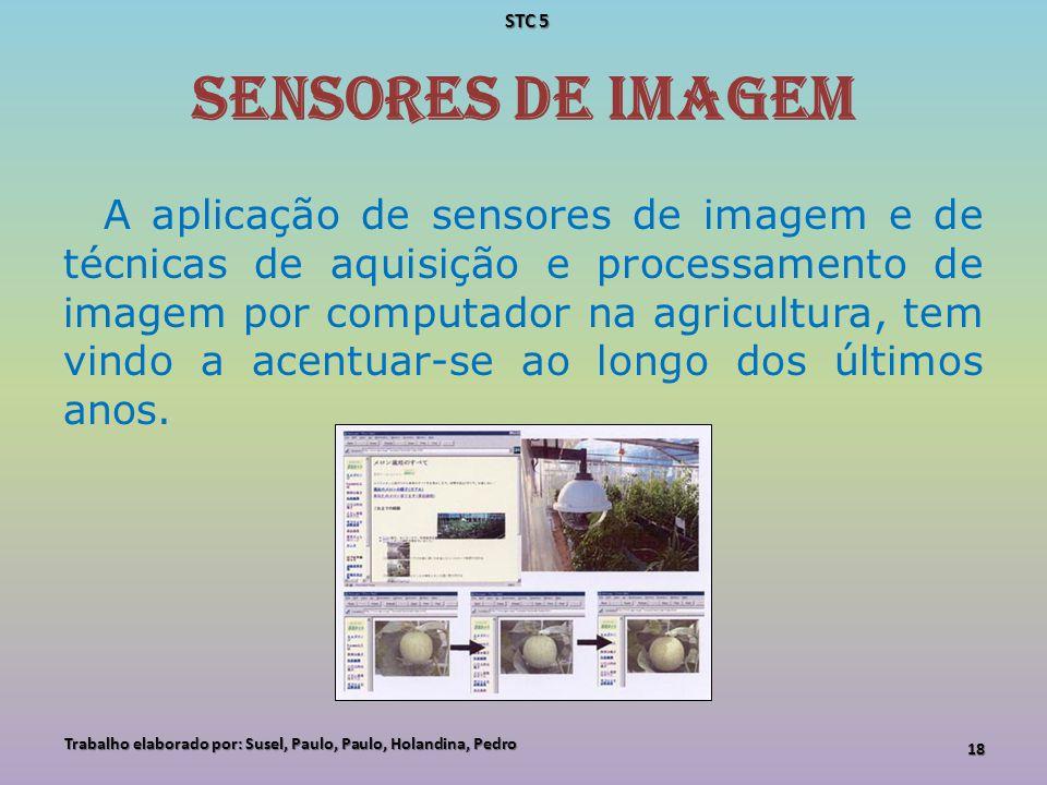 STC 5 Sensores de imagem.
