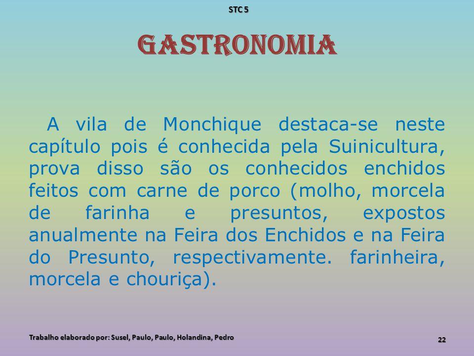 STC 5 GASTRONOMIA.
