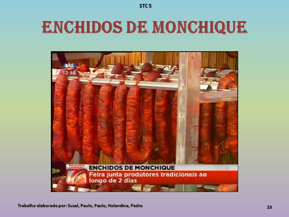 Enchidos de Monchique STC 5
