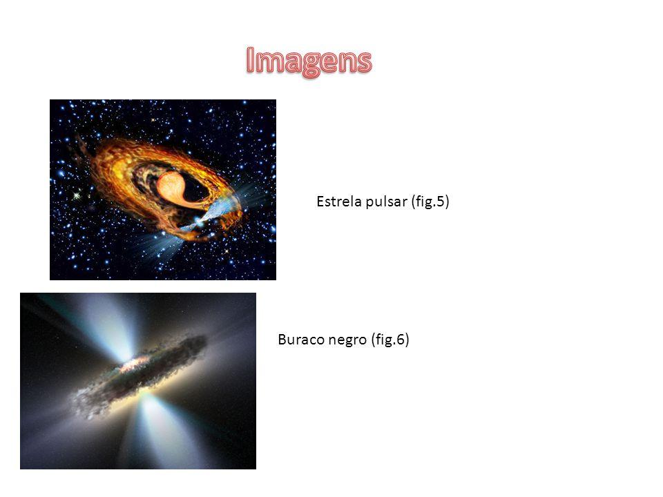 Imagens Estrela pulsar (fig.5) Buraco negro (fig.6)