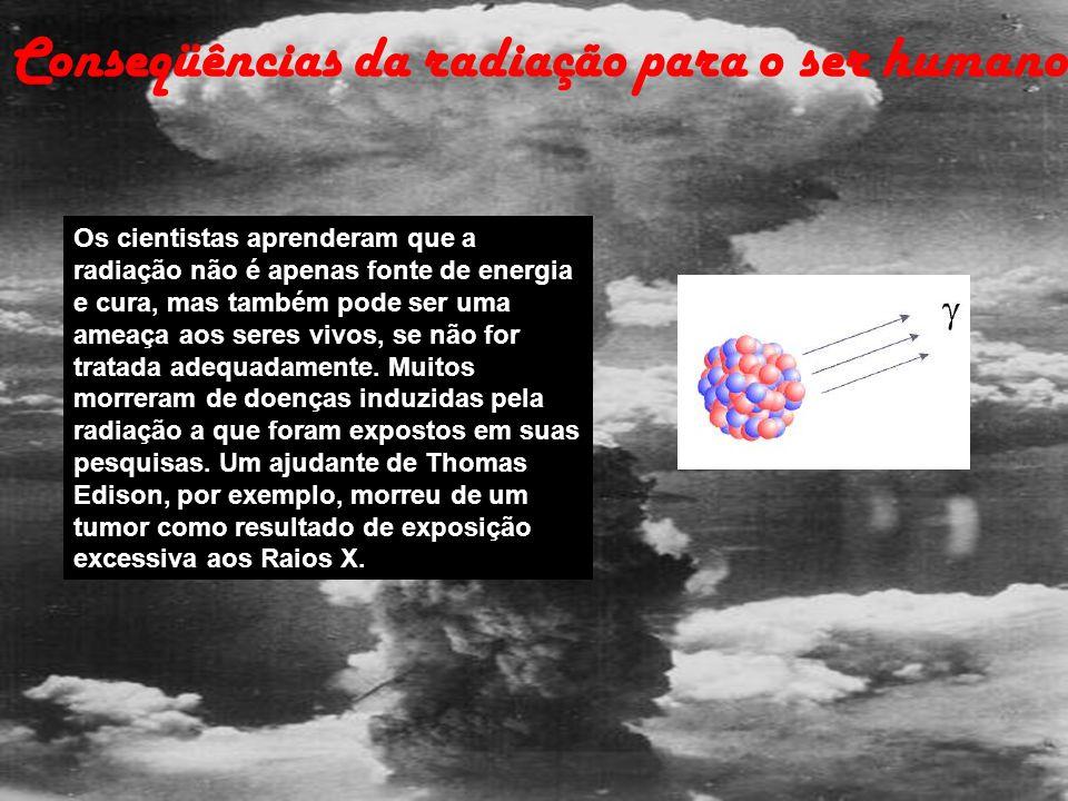Conseqüências da radiação para o ser humano