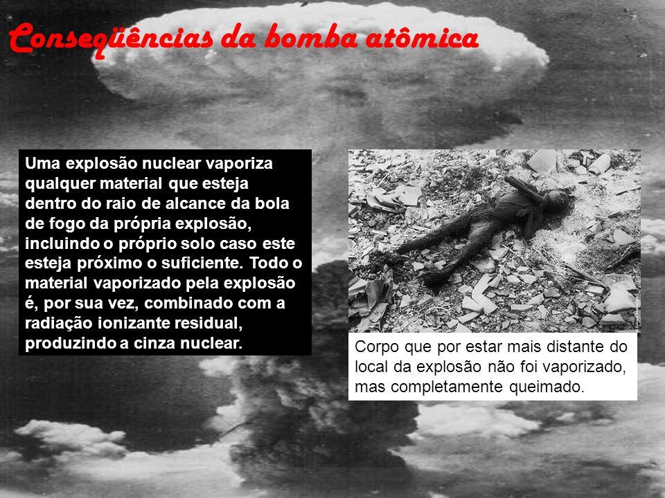Conseqüências da bomba atômica