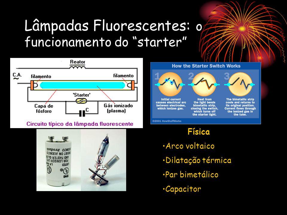 Lâmpadas Fluorescentes: o funcionamento do starter