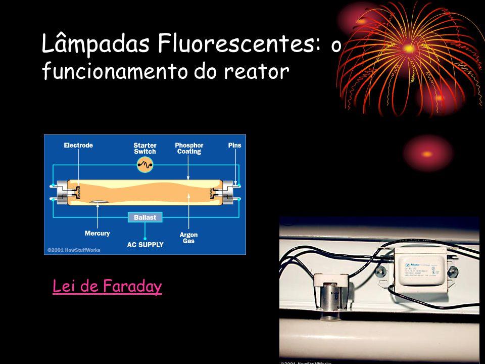 Lâmpadas Fluorescentes: o funcionamento do reator