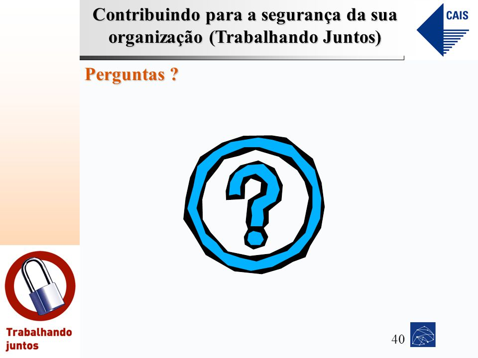Perguntas 40