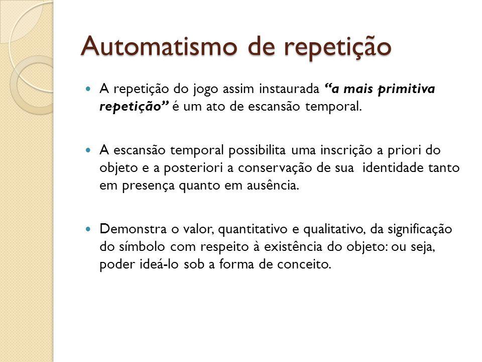 Automatismo de repetição