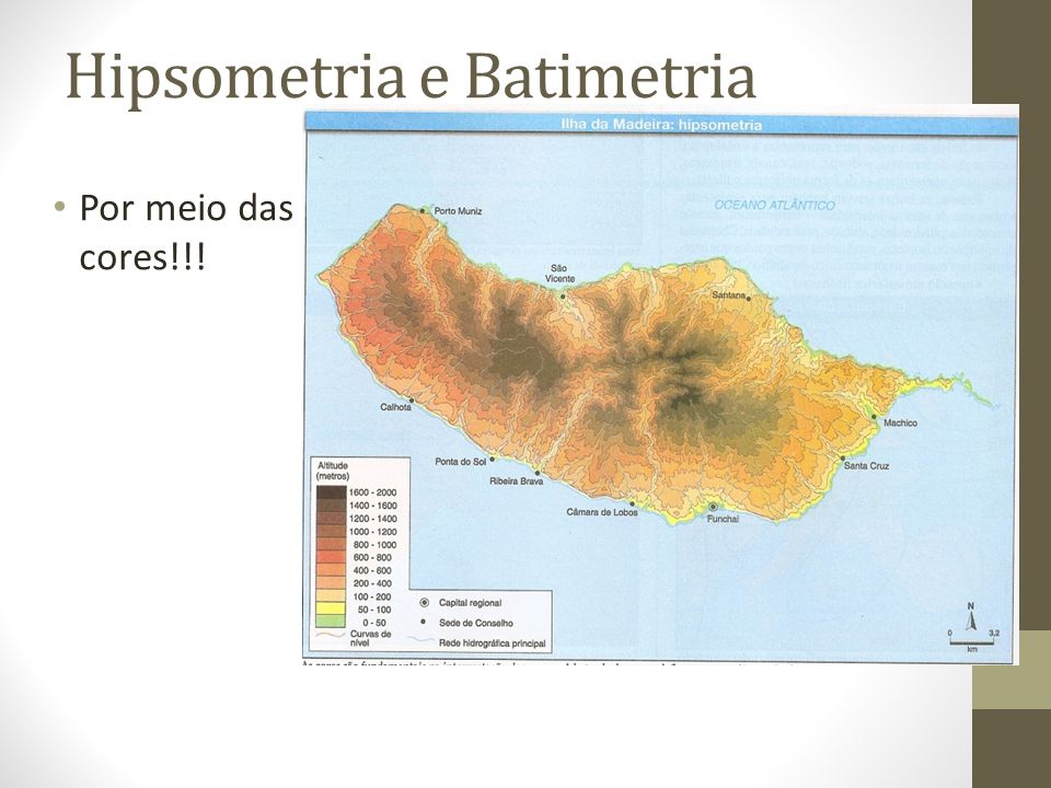 Hipsometria e Batimetria