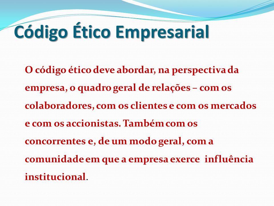Código Ético Empresarial