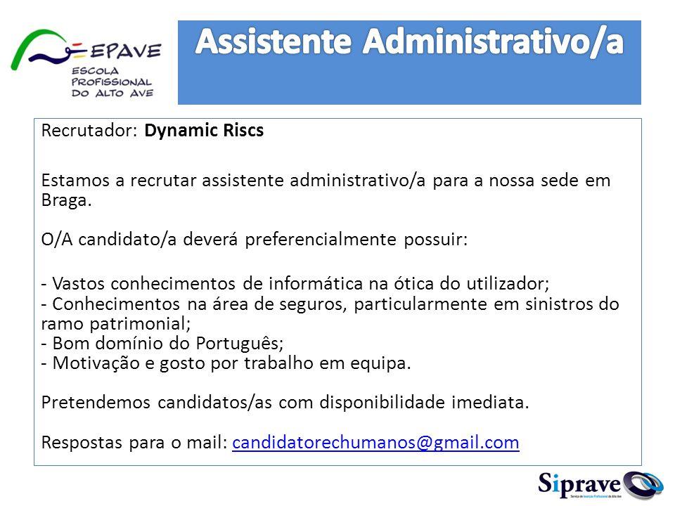 Assistente Administrativo/a