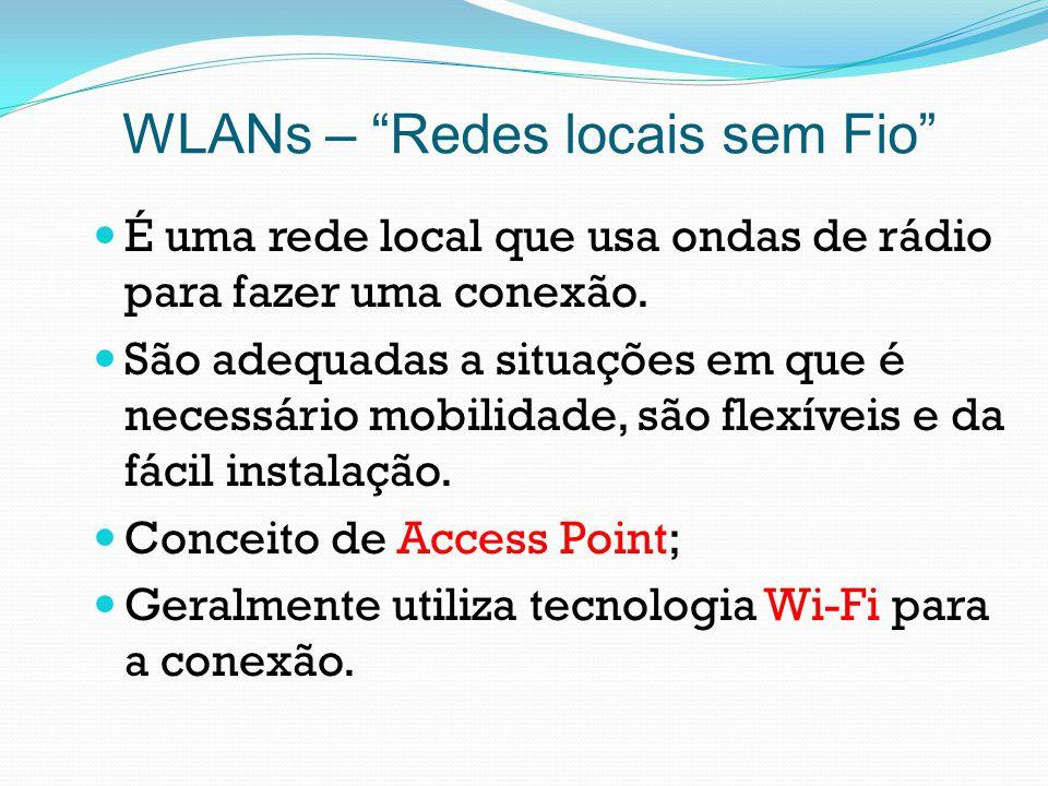 WLANs – Redes locais sem Fio