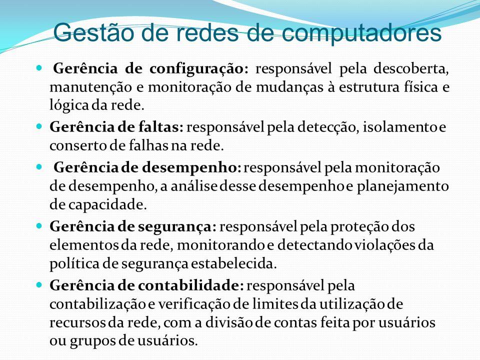 Gestão de redes de computadores