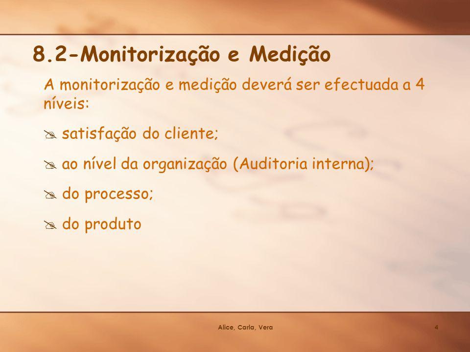 8.2-Monitorização e Medição