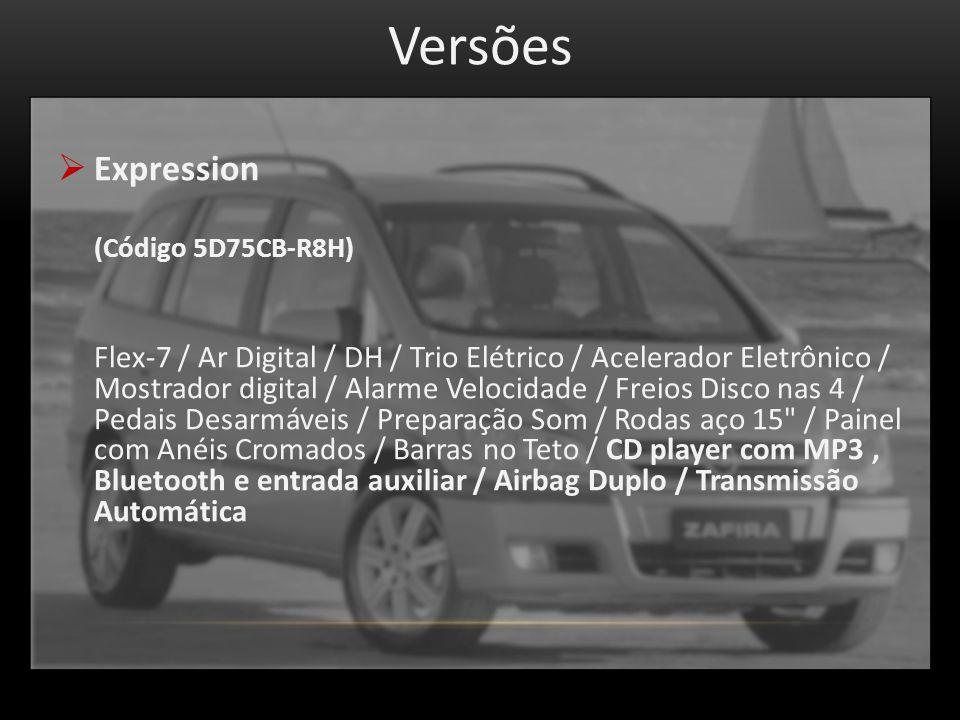 Versões Expression. (Código 5D75CB-R8H)