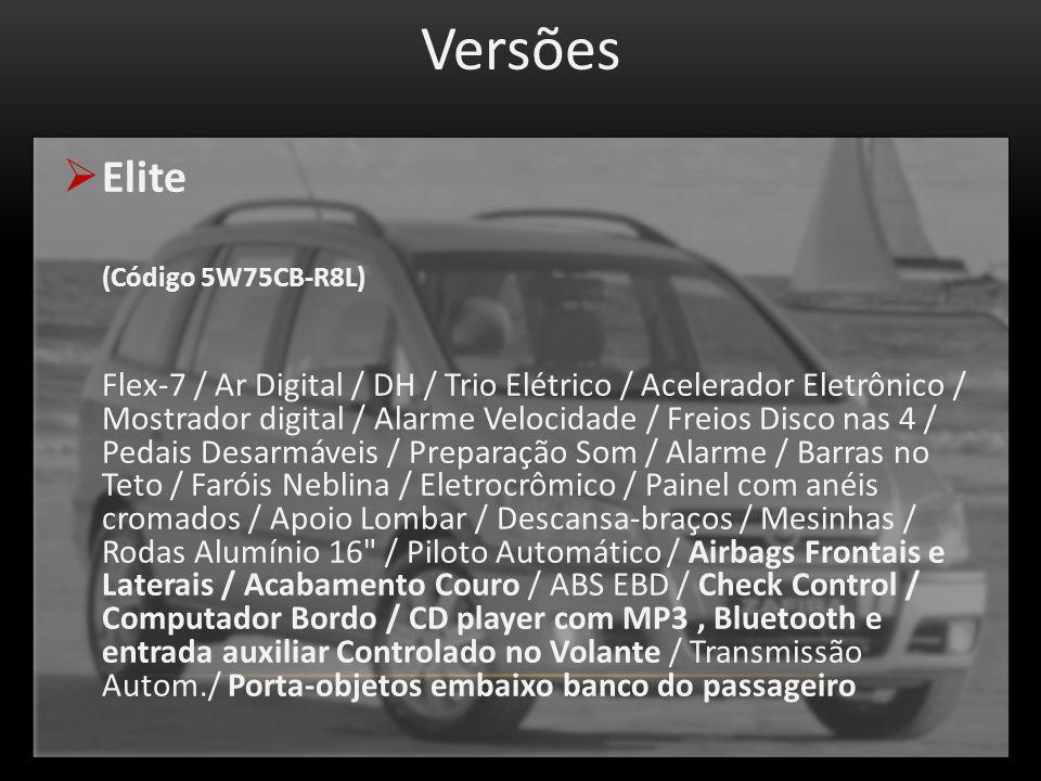 Versões Elite (Código 5W75CB-R8L)