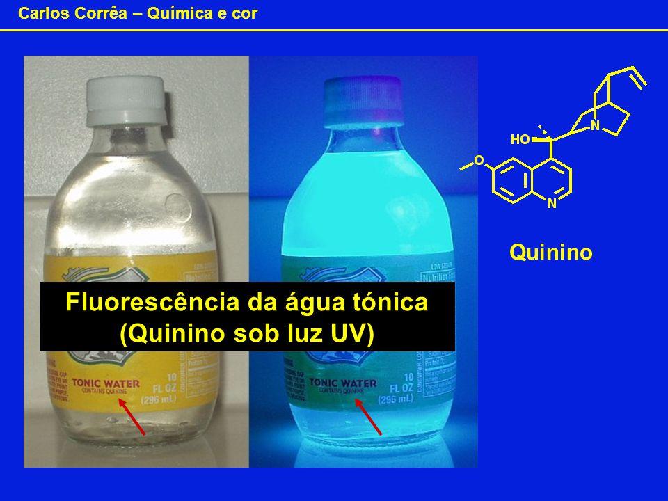 Fluorescência da água tónica