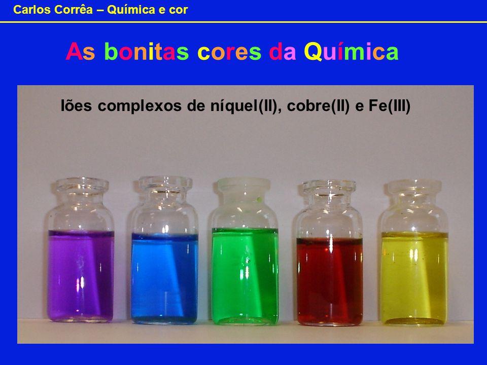 As bonitas cores da Química