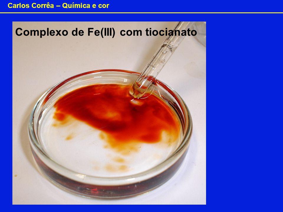 Complexo de Fe(III) com tiocianato