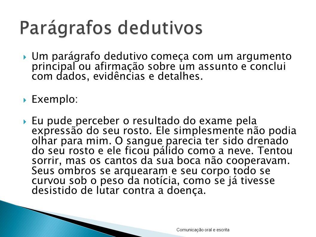 Parágrafos dedutivos