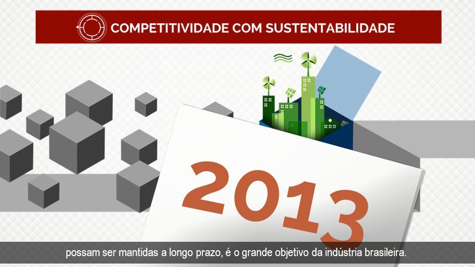 Tempo Competitividade com sustentabilidade.