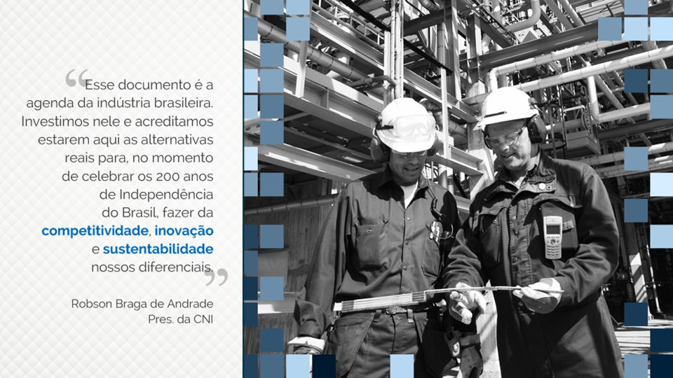 Esse documento é a agenda da indústria brasileira