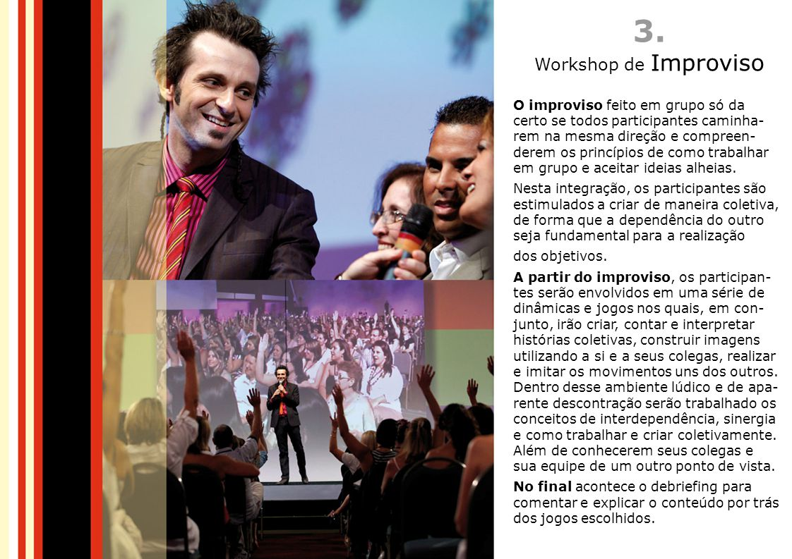 3. Workshop de Improviso.