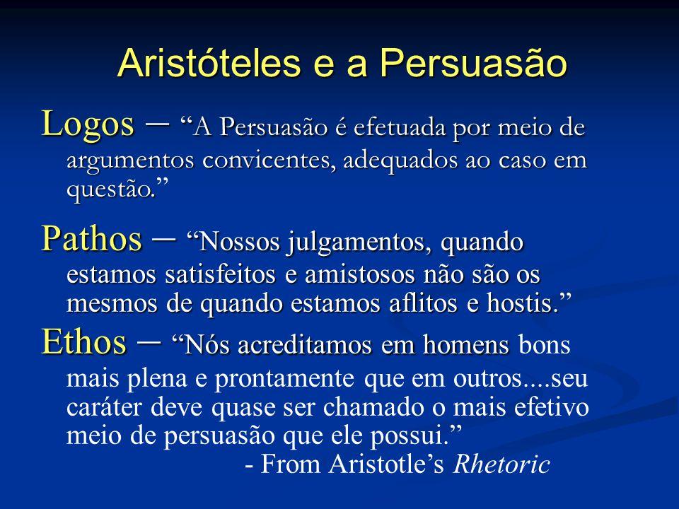 Aristóteles e a Persuasão
